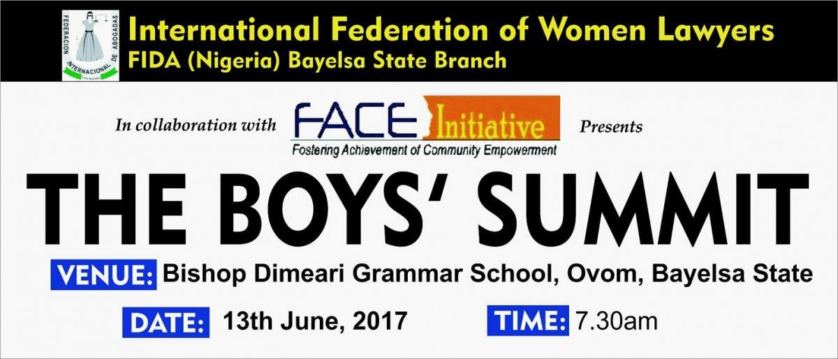 FIDA Bayelsa Boys' Summit