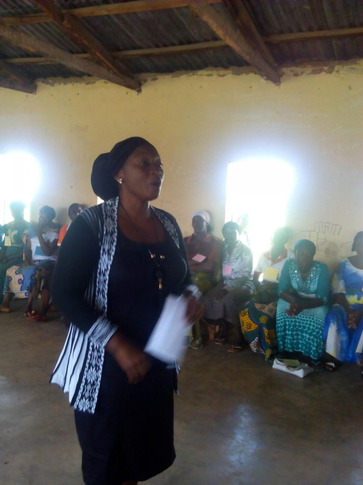 One day sensitization awareness to Plateau women