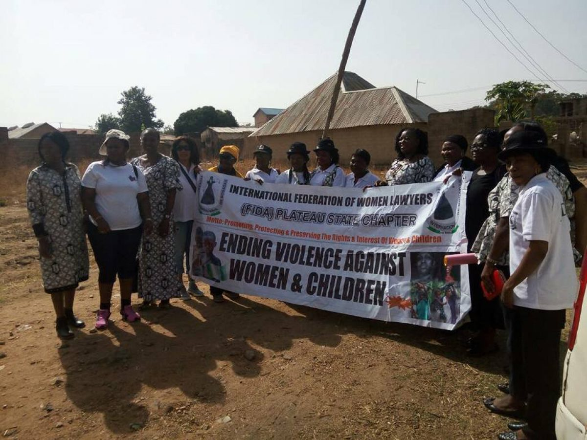 Int'l Womens'day with Zang commercial IDP camp
