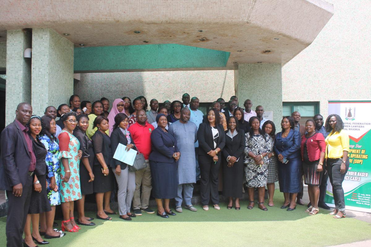 Development of a Standard Operating Procedure for Handling Gender Based Violence Cases