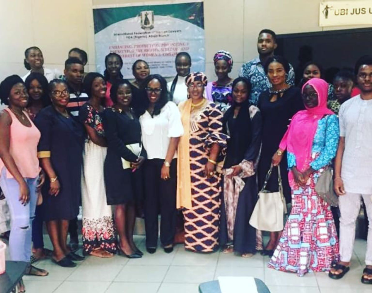 FIDA Abuja Trains Law Students at BAZE University