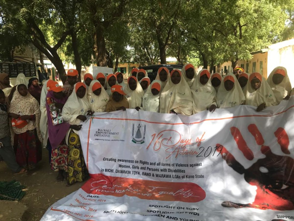 FIDA KANO CELEBRATED THE 16 DAYS OF ACTIVISM