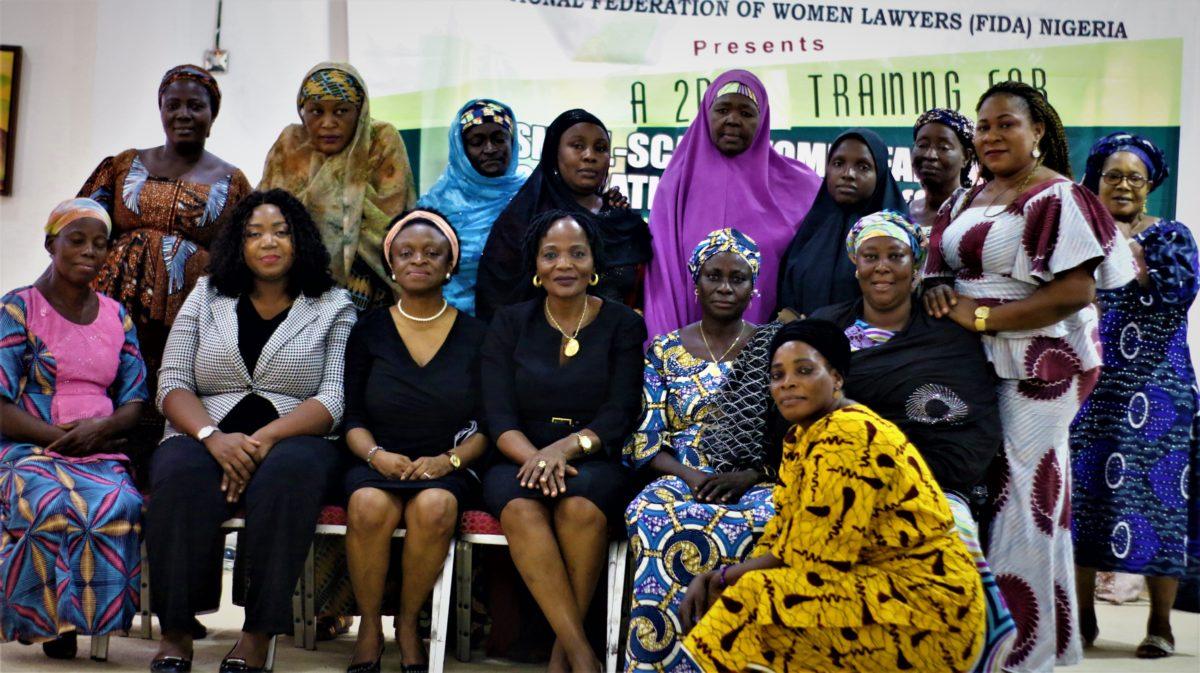 FIDA Nigeria Trains Small Scale Women Farmers Organization in Nigeria (SWOFON)