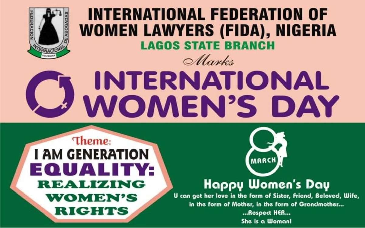 FIDA Lagos Marks The International Women's Day