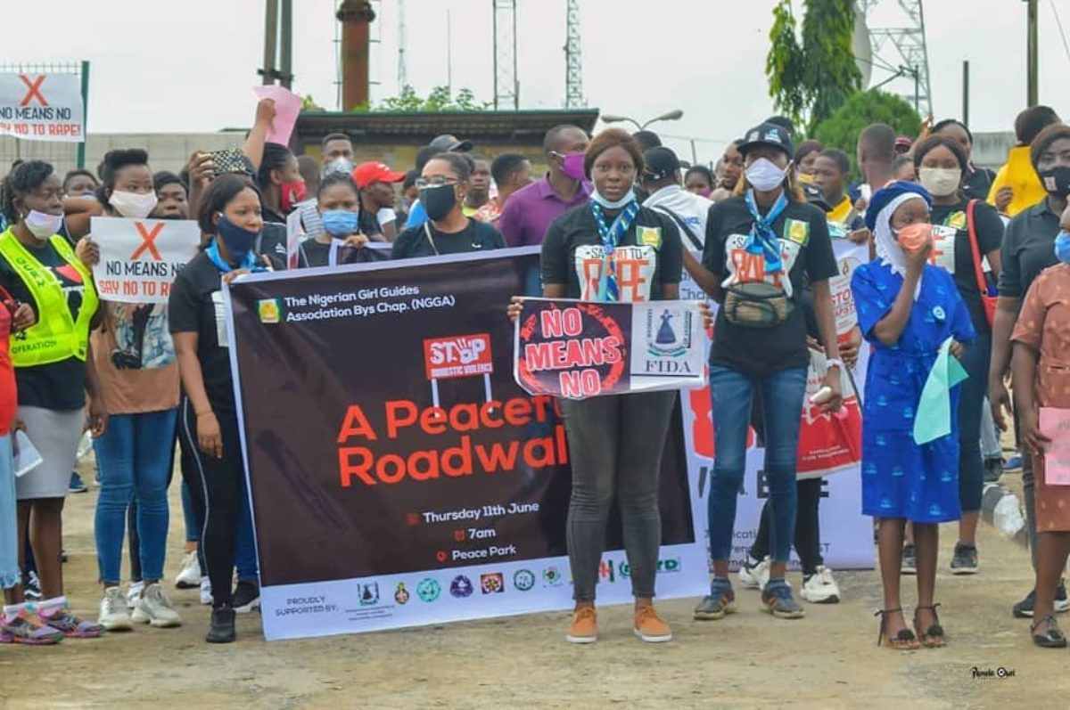FIDA Bayelsa, Collaborates with Stakeholders on a Peaceful Walk Against SGBV