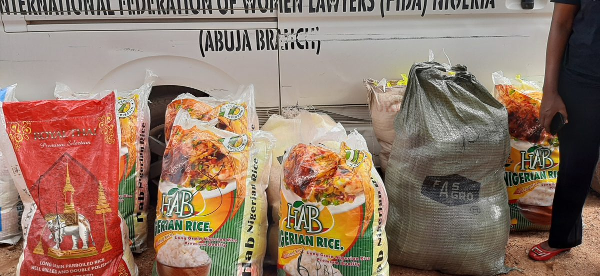 FIDA NIGERIA DISTRIBUTES PALLIATIVES IN ASO PADA COMMUNITY MARABA