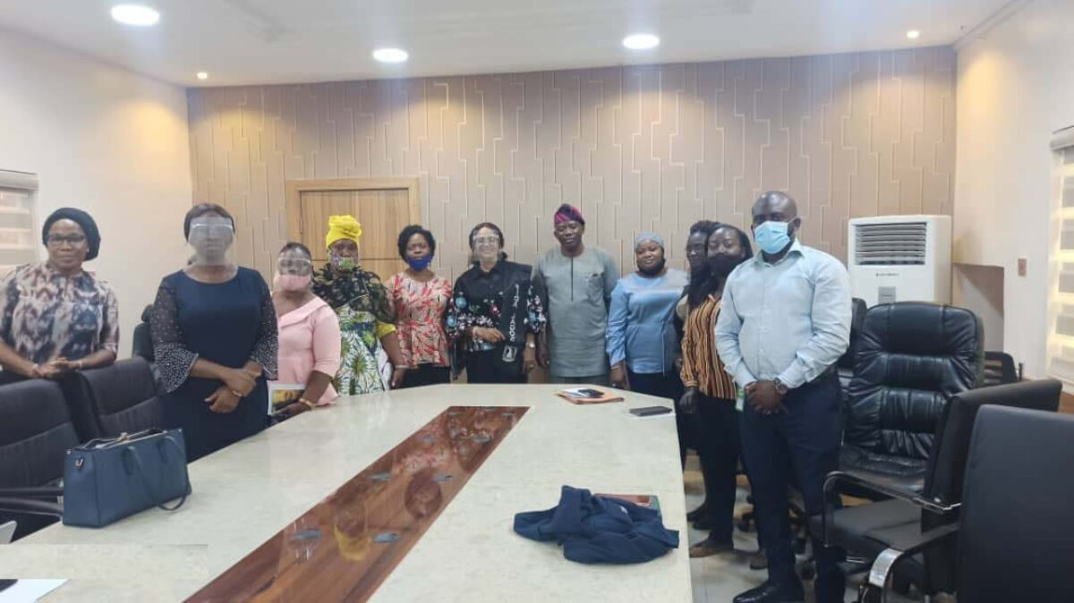 Lagos State Ministry of Economic and Budget Planning, received delegates from FIDA Lagos
