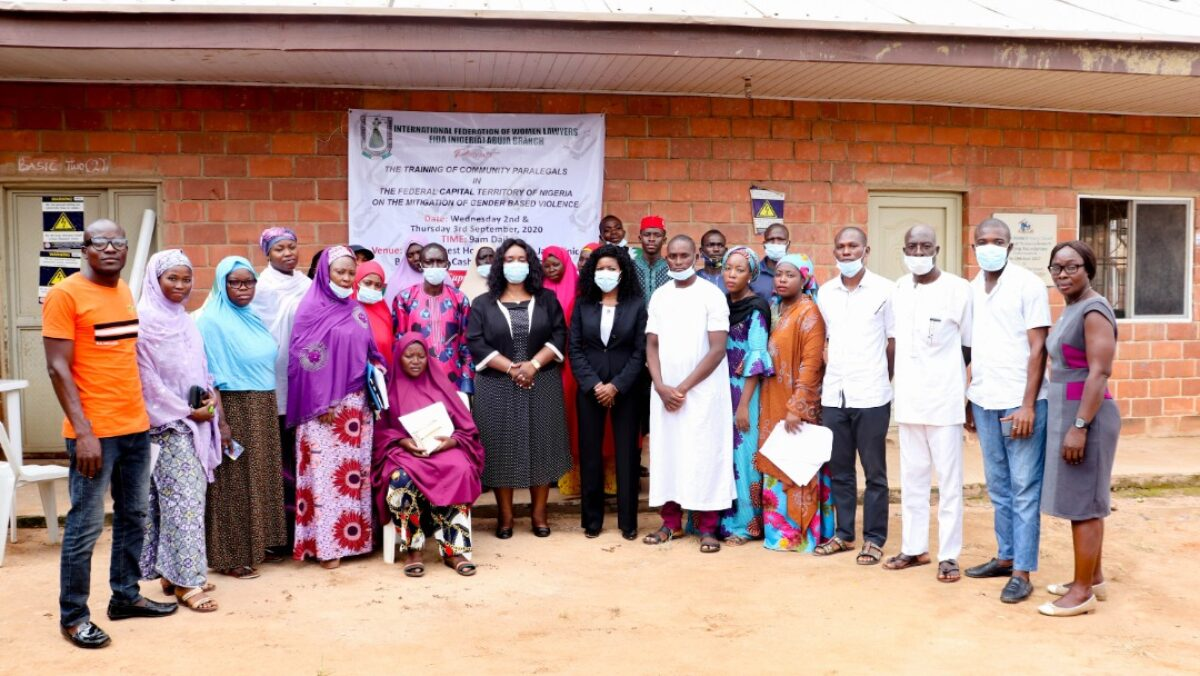 FIDA Conducts Capacity Building Session for Community Paralegals in Jahi, Abuja