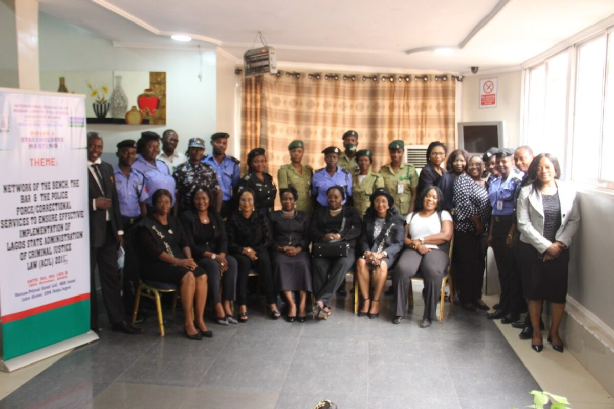FIDA Lagos Hosts a Stakeholders' Meeting on the Administration of the Criminal Justice Law