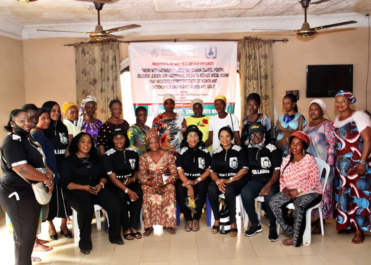 FIDA Nigeria, Lagos State branch held a Ford Foundation Project Inception Meeting