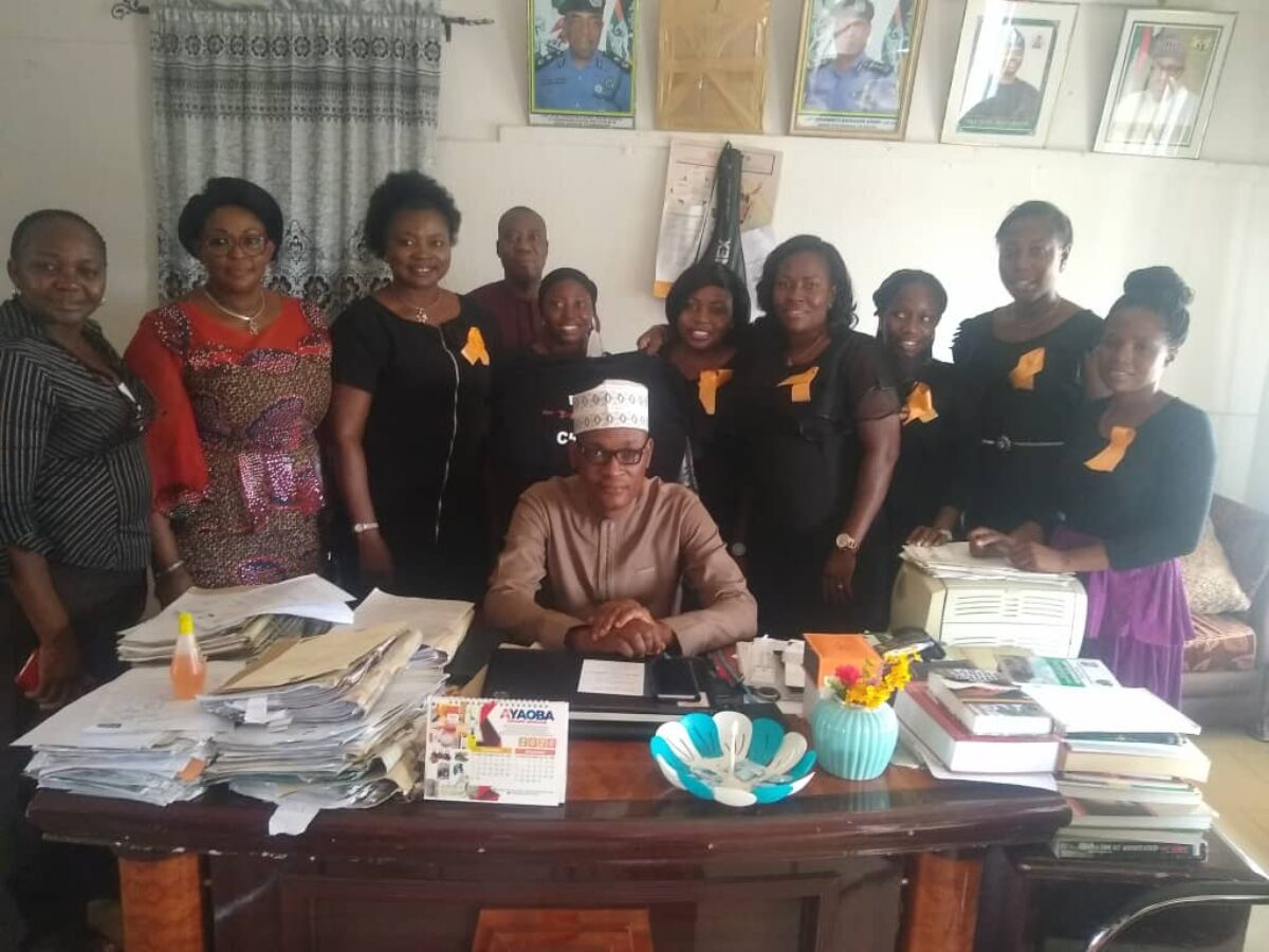 FIDA Oyo Flags off 16 Days of Activism 2020