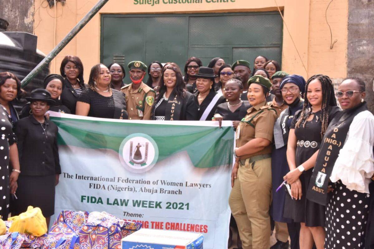 FIDA Abuja Visit to Suleija Correctional Centre