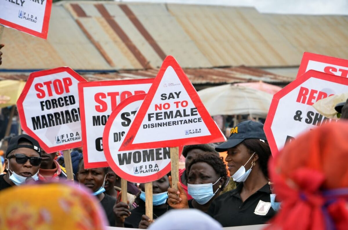 FIDA Plateau Held A Sensitization Campaign On Socio-Cultural Norms And Vices That Perpetuate GBV